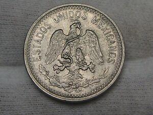 AU/UNC 1906-M 5 Centavos Mexico.  #6