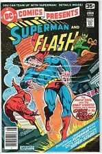 1978 SUPERMAN and The FLASH #1 DC Comic