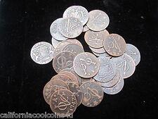 1 - Good Grade Coin 1st New York Penny Dutch Duit Copper East Indies 1,700's A.D
