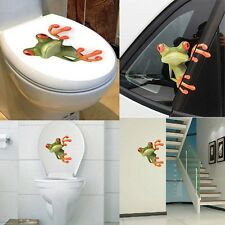 Cute 3D Peep Frog Car Sticker Truck Window Decals Graphics Sticker For Auto
