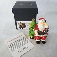 Story Time Holiday Jeweled - Objet D'Art #543 Larger TRINKET BOX