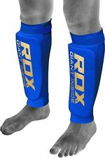 RDX Shin Pads MMA Leg Foot Guards Muay Thai Kick Boxing Guard Protectors Mens a M