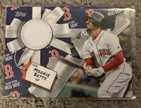 2019 Topps Holiday Mookie Betts Game Used Jersey Relic Boston Red Sox