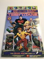 Teen Titans 100 Page Giant #1 Wal-Mart Exclusive DC Comics 2018 / 1st Disrupter