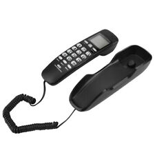 Wired Landline Phone Wall-mountable Mini Desktop Wired Landline Phone Business