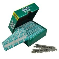 2000 pcs Derby Single Edge Razor Blades for Straight Razors - PRIORITY Shipping