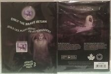 2016 Haunted Ghost Bell Island Hag Canada 25-cent Coin & Stamp Gift Set