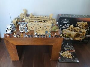 LEGO Star Wars Mos Eisley Cantina (75290) built once 3187 pieces