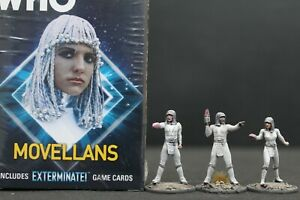 Doctor Who Movellans expansion Warlord Games with well painted miniatures