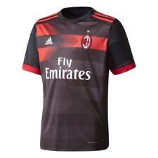 Terza maglia da calcio di squadre italiane adidas manica corta