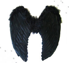 Halloween Angel Fairy Wings Fancy Dress Costume Hen Night Feathers Outfit Adult