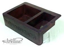 Ariellina Farmhouse 14 Gauge Copper Kitchen Sink Lifetime Warranty New AC1819