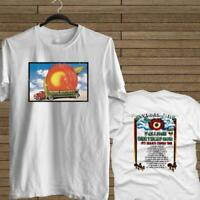 NEW ALLMAN BROTHERS BAND DISTRESSED EAT A PEACH WHITE T-SHIRT TEE USA SIZE EM1