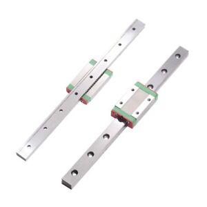 12mm Miniature Linear Slide Rail Guide + MGN12H Block DIY For CNC 3D Printer