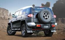 JAOS Front+Rear Mud Guard Flap for Toyota FJ Cruiser 07-14 w/OEM Fender - Black