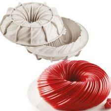 SILIKOMART INTRECCIO STAMPO 3D IN SILICONE ø75 H 35 MM FORME DOLCI TORTE FORNO
