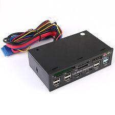 5.25 Inch USB 3.0 PC Front Panel Media Dashboard Card Reader HUB SATA