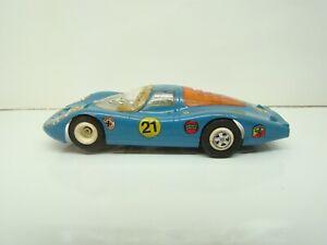 FALLER - 6679 - PORSCHE 907 - BLEU - 1/32 - CLUB RACING - SLOT CAR - ANCIEN -