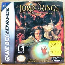 THE LORD OF THE RING NINTENDO GAME BOY ADVANCE NEW USA VERSION