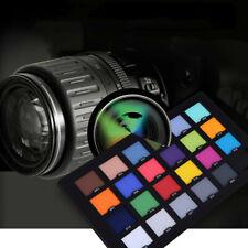 Andoer 24 Color Checker Color Card Test for Superior Digital Color Correction