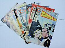 Space: 1999 ('75; Charlton) 1-7 (7 books) Complete Set, Byrne Backup