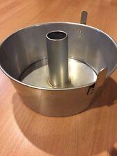 Vintage Comet Aluminum Angel Food Cake Pan Removable Sides