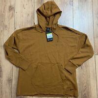 Nike Women's Icon Clash Fleece Training Hoodie Size S Brown BV5085 857 NEW
