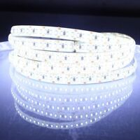 12V LED 5M WHITE 3528 600LEDS SMD NO-WATERPROOF FLEXIBLE STRIP LIGHT LAMP 16.4FT