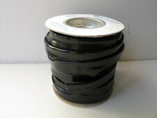 "Alpha Wire PVC Coated Fiberlglass Sleeving 1/2"" x 100 ft., Black - PIF-130-1/2A"