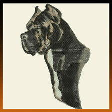 Cane Corso Dog Breed Bathroom Set Of 2 Hand Towels Embroidered