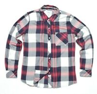 Rails Womens Button Front Plaid Size S Long Sleeve Soft Flannel Shirt red
