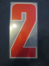 N. 2 Arsenale 2012-2013 CHAMPIONS LEAGUE AWAY FOOTBALL SHIRT SET NAME NUMBER
