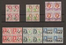 SOUTHERN RHODESIA 1953 SG 78/91 Fine Used Block Cat £440