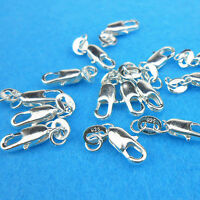 10PCS Wholesale Jewelry Findings 925 Sterling Silver Lobster Clasps Hallmark II