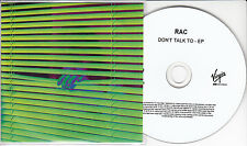 RAC Don't Talk To EP 2013 UK 4-track promo test CD Kele Okereke Penguin Prison