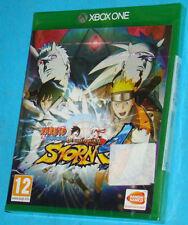 Naruto Shippuden Ultimate Ninja Storm 4 Microsoft XBox One PAL New Nuovo Sealed