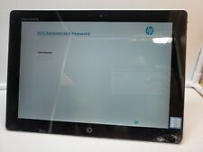 """HP ELITE X2 G1 12"""" TABLET PC CORE m5-6Y57 NO SSD 8GB BIOS LOCKED NO KEYBOARD"""