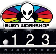 "ALIEN WORKSHOP SPECTRUM STICKER Alien Workshop Spectrum 3.5"" x 1.75"" Skate Decal"