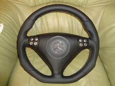 Tuning AMG volante de cuero mercedes clase c w203 SLK r171 abajo aplanada!!! Top