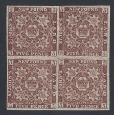 NFLD No 19b Mint Never Hinged Very Fine  Block of 4