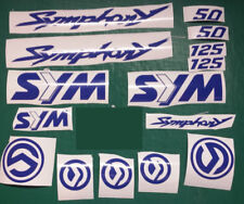 Sym Symphony Decals/Stickers symphony SR 50 125 Decals/Stickers