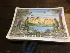sealed pack PA GAME COMMISSION 100 YEARS prints / place mats