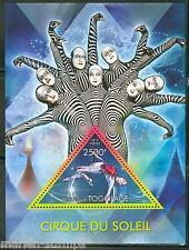 Togo 2013 Cirque Du Soleil Souvenir Sheet Mint Nh