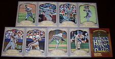 2012 Gypsy Queen New York Mets team Base Insert set 9