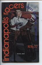 1974-75 Indianapolis Racers WHA Yearbook Press Guide EM