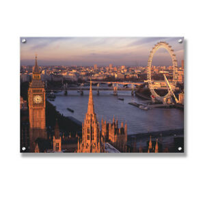 Personalised acrylic glass wall picture. Size A1, A2, A3, A4 . Gift or present