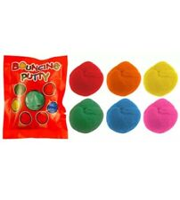 48x Bouncing Putty Bags Pinata Toy Loot/Party Bag Fillers Wedding/Kids UK SLR