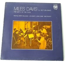 Miles Davis Tuba Band - Pre-birth of the Cool - Vinyl LP Italy 1974 Press EX/NM
