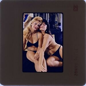 Vintage Glamour 35mm Slide Set X7 Topless, Nude, Risqué, 80's / 90's