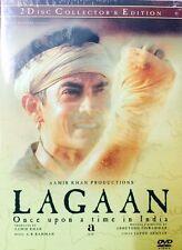 Lagaan - Aamir Khan - Hindi Movie 2 Disc Edition / Region Free / English Subtitl